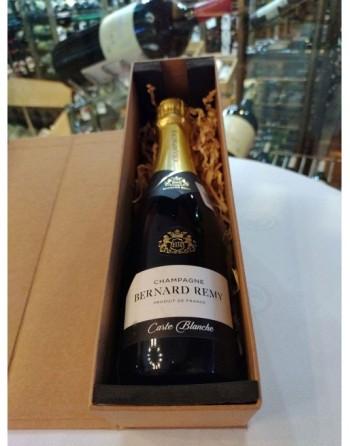 Champagne Carte Blanche Bernard Remy 375ml +  Caja de cartón individual con imán